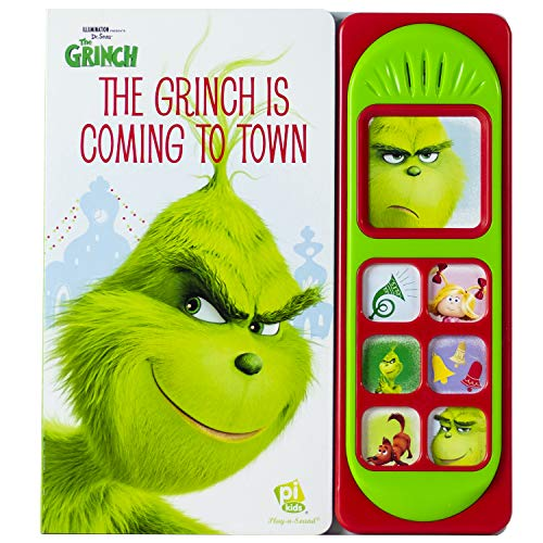 Dr. Seuss - The Grinch is Coming to Town - Play-a-Sound - PI -