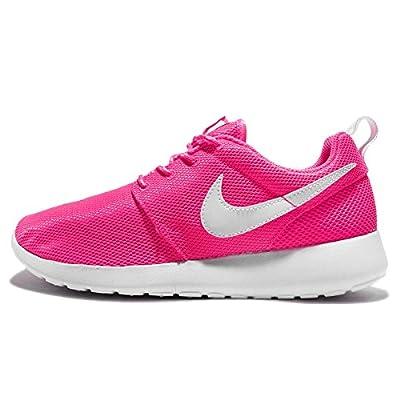 Nike Kids Roshe One Pink Blast/White Running Shoe (7 US Kids)