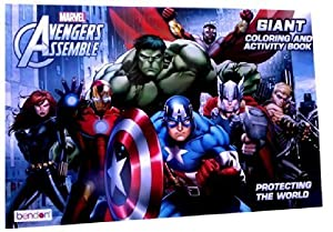 marvel avengers giant coloring book - Marvel Coloring Book