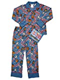 St Eve Boys Varsity All Star Flannel Pajamas Sports Sleepwear Set & 3D Glasses S