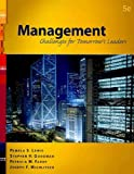 Management : Challenges for Tomorrow's Leaders (Book Only), Lewis and Lewis, Pamela S., 0324302606