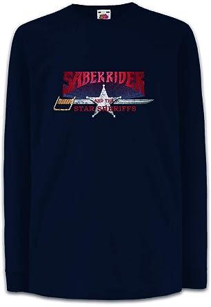 5f5371b1 Amazon.com: Saber Rider & The Star Sheriffs I Kids Boys Girls Long ...