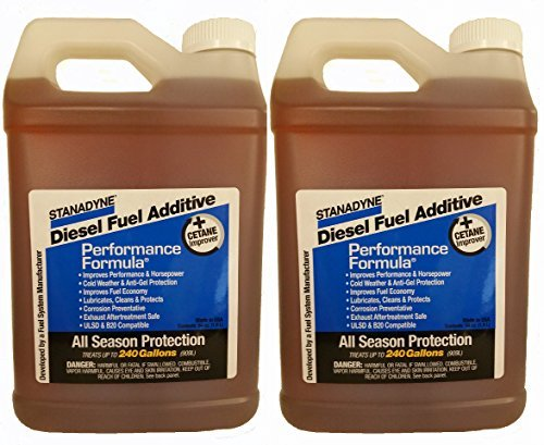 Stanadyne Performance Formula Diesel Fuel Additive 2 Pack of 1/2 Gallon Jugs - Part # 38566 by Stanadyne