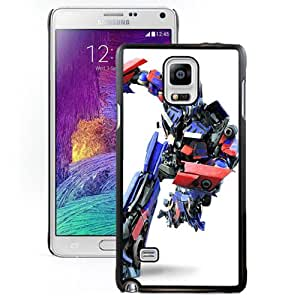 Beautiful Designed Case For Samsung Galaxy Note 4 N910A N910T N910P N910V N910R4 Phone Case With TF2 Optimus Prime Phone Case Cover
