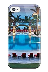 Dana Diedrich Wallace's Shop 4303263K83808792 Series Skin Case Cover For Iphone 4/4s(luxury Swimming Pool)