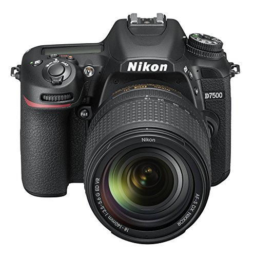 Nikon D7500 20.9MP Digital SLR Camera (Black) with AF-S DX NIKKOR 18-140mm f/3.5-5.6G ED VR Lens(with Bag)