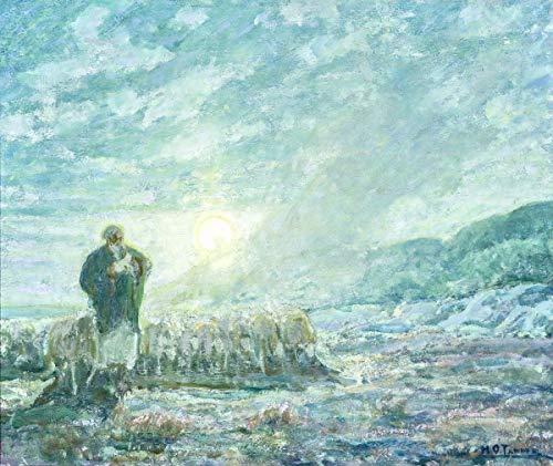 Berkin Arts Henry Ossawa Tanner Giclee Art Paper Print Art Works Paintings Poster Reproduction(The Good Shepherd) #XZZ