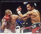 Autographed Miguel Cotto Picture - 11x14 PSA DNA # Z77132 - Autographed Boxing Photos