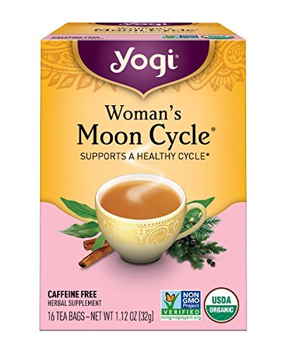 Chaste Berry Tea - Yogi Tea, Woman's Moon Cycle, 16 Count (Pack of 6), Packaging May Vary