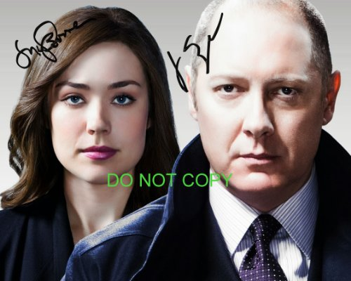 The Blacklist James Spader & Megan Boone reprint signed photo RP #2 from Loa_Autographs