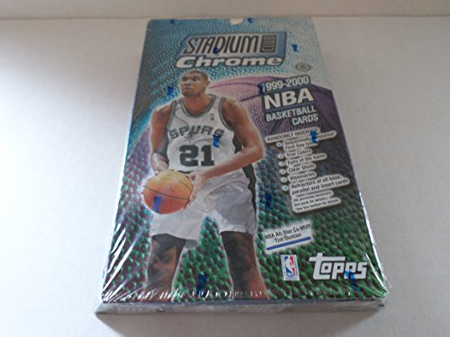 Stadium Club Chrome 1999-2000 NBA Basketball Box