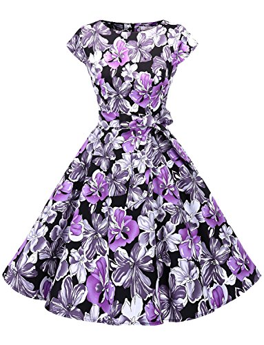 50s circle skirt dress - 1