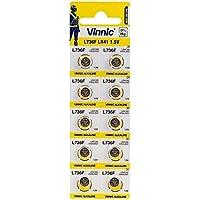 Lotto di 20pile Vinnic AG3l736F LR41alcaline 1,5V