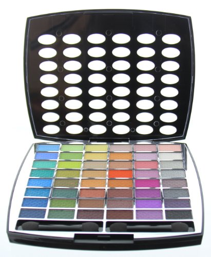 BR Beauty Revolution Glamour Girl Makeup Kit 43 Eyeshadow / 9 Blush / 6 Lip Gloss