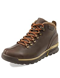 MIDA Men's Winter Boots 12210: Leather and Fur Snow Shoes, Abrasion Resistant, Non-Slip OC System Sole, Safety Ice Footwear, Warm and Comfortable