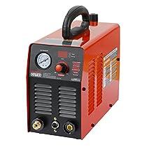 110V Plasma Cutter IGBT 40Amp Air Plasma Cutter 10mm Clean Cut Quick NPT Air Connector.