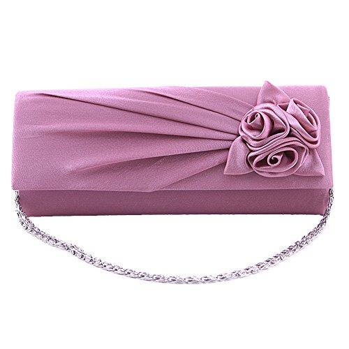 SSMK Evening Bag - Cartera de mano para mujer Rosa