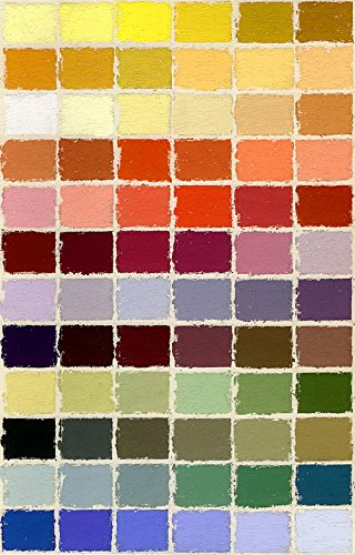 Jack Richeson Unison Pastel Portrait Colors, Set of 72 by Jack Richeson