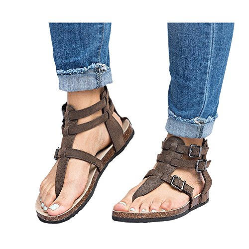As Sandals 2018 Shoes Jeff Casual Buckle Tribble Flat Summer Women Pic2 fPBzTw