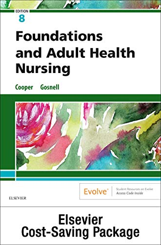 Foundations and Adult Health Nursing - Text and Virtual Clinical Excursions Online Package, 8e
