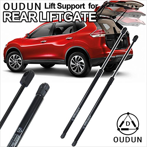 Honda Element Tailgate (VioletLisa Brand New 2pcs Rear Liftgate Hatch Gas Lift Supports Strut Shocks Fit Honda 2003-2011 Element)