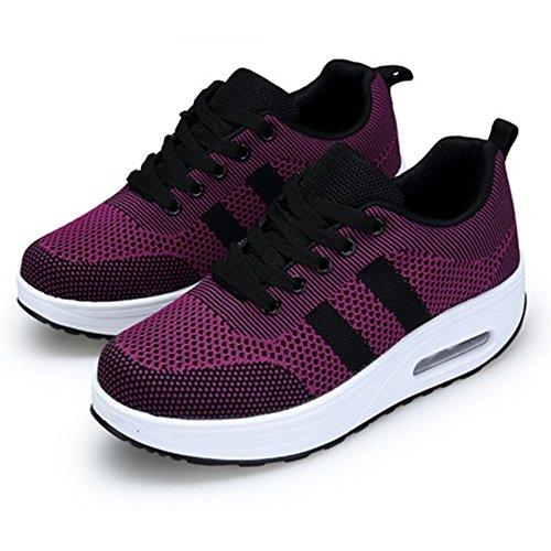 tal Zapatos para On Mujeres Gimnasia Caminata Comfort Mujeres Tenis Zapatos Slip de de Zapatillas Casuales relajantes para CAI de Zapatillas Fitness 1wR6Rqd