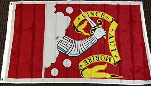 Bedford Flag (3x5 Bedford Flag Revolutionary War Battle Banner New Pennant Minuteman)
