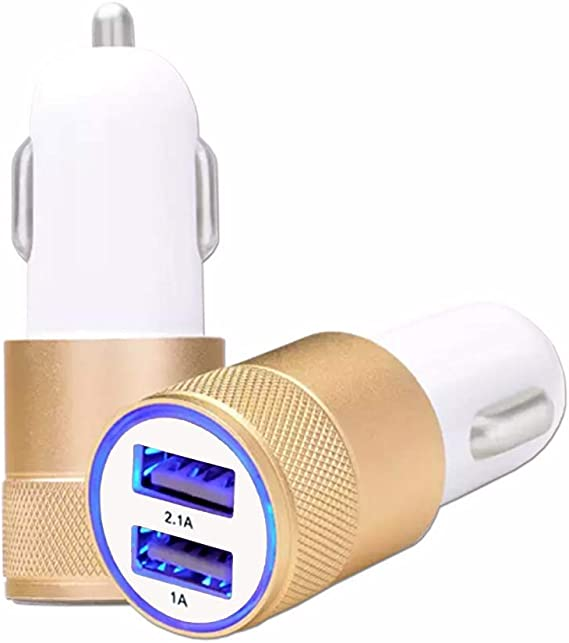 Chargeur Allume-Cigare USB pour Voiture, Charge Rapide