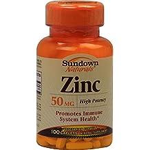 Zinc Gluconate 50 Mg, by Sundown - 100 Tablets