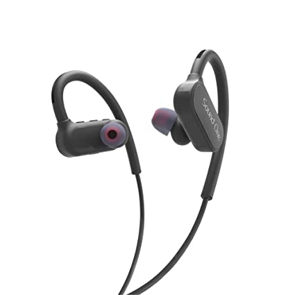 338d271435c Sound One SP-40 Sports Bluetooth Earphones with Mic and Carry Case (Black):  Buy Sound One SP-40 Sports Bluetooth Earphones with Mic and Carry Case  (Black) ...