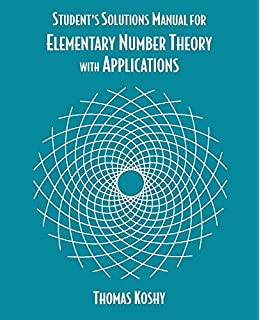 Elementary number theory james k strayer 9781577662242 amazon students solutions manual for elementary number theory with applications fandeluxe Image collections