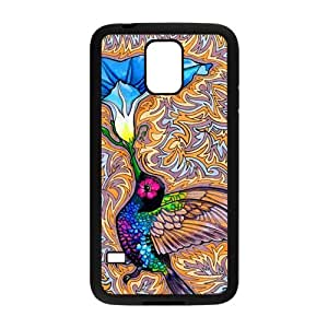 Holy Hummingbird Protective Rubber Phone Cover Case for Samsung Galaxy S5,SV Cell Cases