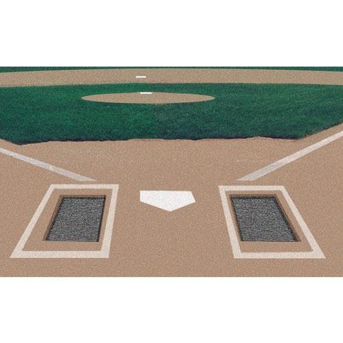 Markers Inc Rubber Batter's Box Foundation (Pair)