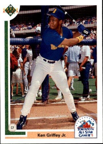 1991 Upper Deck Final Edition Baseball Card #87F Ken Griffey Jr. 1991 Upper Deck Final Edition