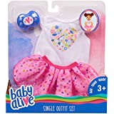 Baby Alive Single Outfit Set - White Tee Pink Tutu