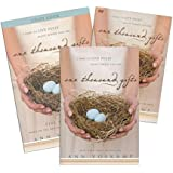 FULL SET: Book + DVD + Study Guide- One Thousand Gifts: A Dare to Live Fully Right Where You Are - Zondervan 2012 Ann Voskamp