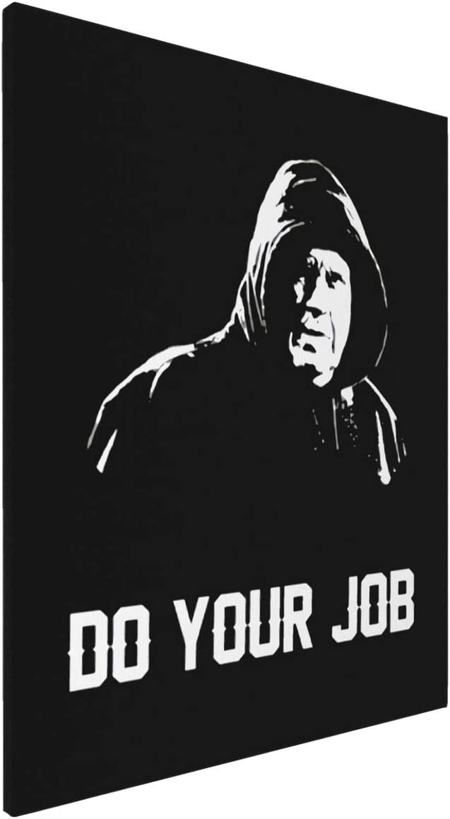 Painting Wall Art Board Painting Decal Stickers for Home Walls Do Your Job Bill Belichick Greatest Coach Ever New England Football Home Decor Wall Art 16x20inch