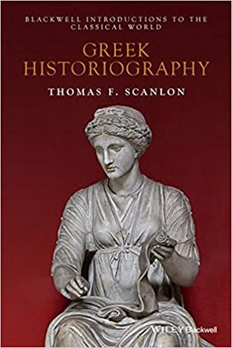 amazon com greek historiography blackwell introductions to the
