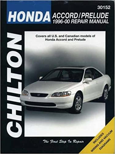 Honda accord and prelude 1996 00 chilton total car care series honda accord and prelude 1996 00 chilton total car care series manuals 1st edition fandeluxe Gallery