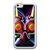Generic 6 Case,6S Cover,Majora Mask Slim Case for iPhone 6/6S(White)