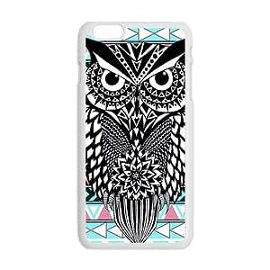 Unique black owl Cell Phone Case for iPhone plus 6