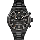 Timex Waterbury Traditional Black Dial Stainless Steel Men's Watch TW2R25000