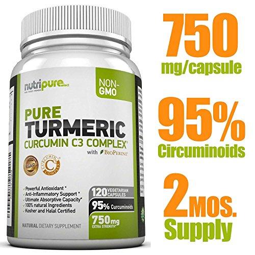 Turmeric Curcumin Features BioPerine Curcuminoids