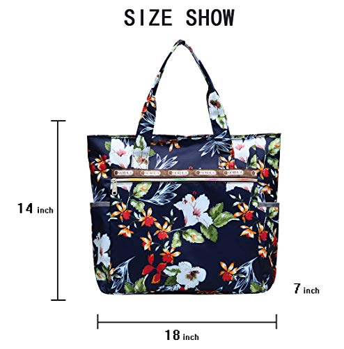 bf314d43da7c3 Nylon Large Lightweight Tote Bag Shoulder Bag for Gym Hiking Picnic Travel  Beach Waterproof Tote Bags
