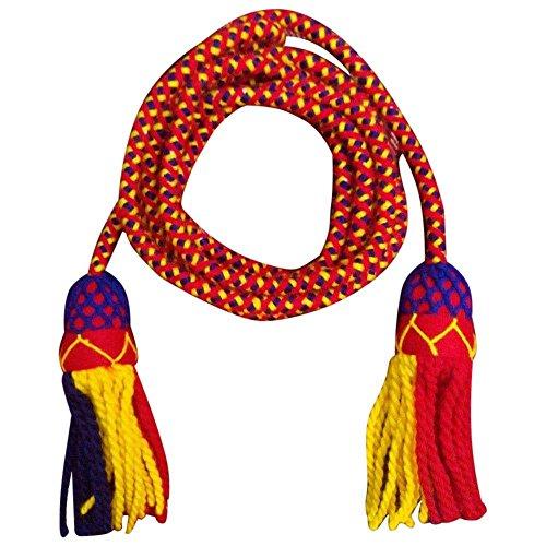 TC Bb Bugle Multi Colour Wool Cord/Bugle Wool Cord Tri Colors/Scout Bugle Cord ()