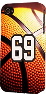 Basketball Sports Fan Player Number 69 Snap On Flexible Decorative iphone 6 4.7 Case