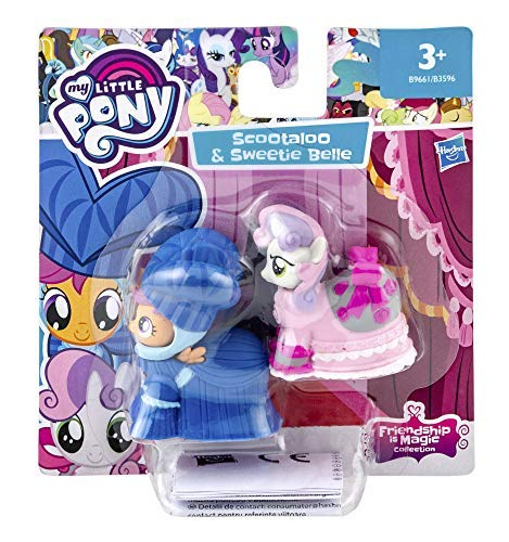 Buy My Little Pony Friendship Is Magic Collection Scootaloo And Sweetiebelle Playset Online At Low Prices In India Amazon In Scootaloo's motorcycle tricks doll fail. buy my little pony friendship is magic