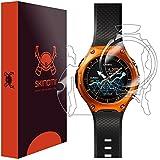 Casio Smart Outdoor Watch Screen Protector + Full Body (WSD-F10), Skinomi TechSkin Front & Back Skin + Screen Protector for Casio Smart Outdoor Watch Clear HD Film - w/