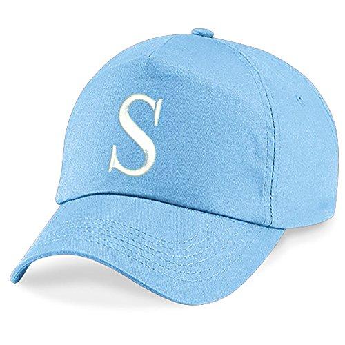Unisexe De A Brodé Fille Casquette Baseball 4sold Enfants Letter Bleu Bonnet New Garçon Chapeau S Z Cap B0pqwg6
