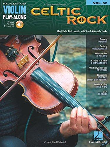 Celtic Rock: Violin Play-Along Volume 52 (Hal Leonard Violin Play-Along)